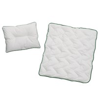 rattstart ECO Pillow and Duvet for Stroller/Cot White
