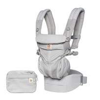 Ergobaby Baby Carrier Omni 360, Cool Air Grey Musta