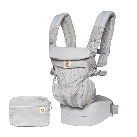 Ergobaby Omni 360 Baby Carrier Cool Air Grey Black
