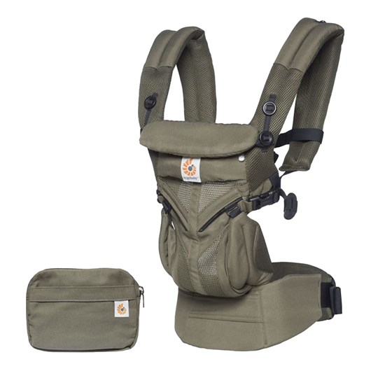 Ergobaby Omni 360 Baby Carrier Cool Air Khaki Green Khaki Green