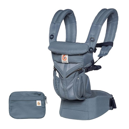 Ergobaby Omni 360 Baby Carrier Cool Air Oxford Blue Oxfordblue