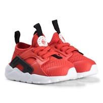 NIKE Red Huarache Run Ultra Infants Sneakers 600
