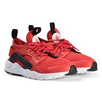 NIKE Red Huarache Run Ultra Kids Sneakers 600