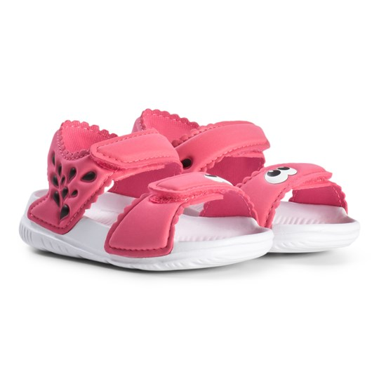 940d6d0821cb7d adidas Performance Real Pink Monster Alta Swim Infants Sandals REAL PINK  S18 FTWR WHITE