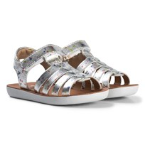 Shoo Pom Goa Spart Sandals Dotty Silver Silver