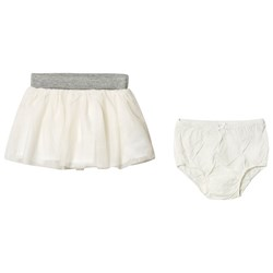 GAP Tulle Layered Skirt Ivory Frost
