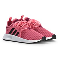 adidas Originals Pink X PLR Kids Trainers CHALK PINK S18/CORE BLACK/FTWR WHITE