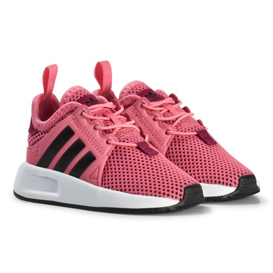 adidas Originals Pink X PLR Infants Trainers CHALK PINK S18/CORE BLACK/FTWR WHITE