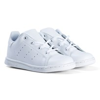adidas Originals White Stan Smith Trainers FTWR WHITE/FTWR WHITE/FTWR WHITE