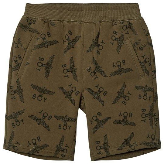 Boy London Eagle Repeat Shorts Khaki KHAKI/BLACK