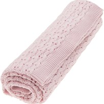 Vinter & Bloom Grace Organic Blanket Pink Sunset Pink Sunset