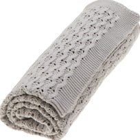 Vinter & Bloom Grace Organic Blanket Grey Mist Grey Mist