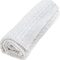 Vinter & Bloom Grace Organic Blanket White Light White Light