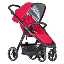 Phil and Teds Smart, Stroller, Cherry, 2018 Cherry