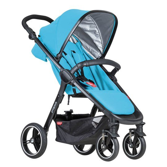 Phil and Teds Smart Stroller Cyan 2018 Cyan