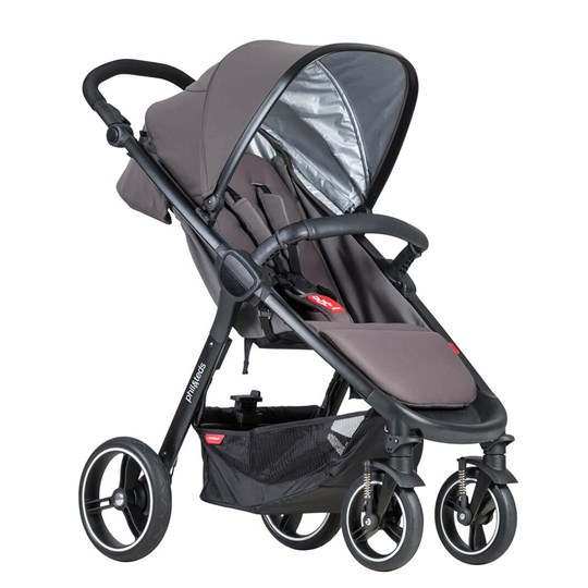 Phil and Teds Smart Stroller Graphite 2018 Graphite