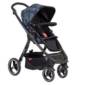 Image of Phil and Teds Mod Stroller Noir 2018 (3125239055)