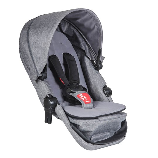 Phil and Teds Voyager Extension Set Grey Marl Grey Marl