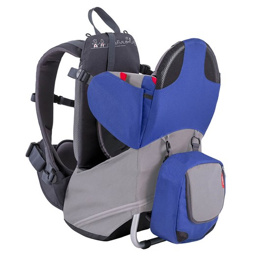 Phil and Teds Parade Backpack Baby Carrier Blue Blue