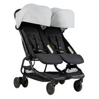 Mountain Buggy Nano Duo Stroller Silver 2018 Hopea