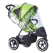Phil and Teds Raincover, Sport singelstroller TRANSPARENT
