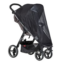 Phil and Teds Suncover, Smart Stroller Black
