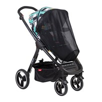 Phil and Teds Suncover, Mod Stroller Black