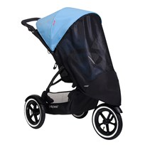 Phil and Teds Suncover, Sport singelstroller Black