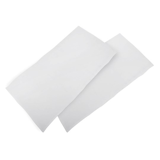 Phil and Teds 2-pack Traveler Bed Sheets White