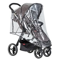 Phil and Teds Raincover, Smart Stroller TRANSPARENT