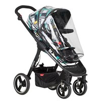 Phil and Teds Raincover, Mod Stroller TRANSPARENT