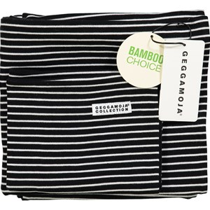 Image of Geggamoja Bamboo Bedding for Carrycot and Cradle Black/White (3015621687)