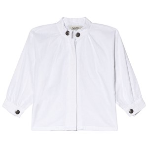 Image of Salto White Festive Pike Blouse 104 cm (3015621757)