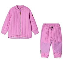 Ticket to heaven Thermo set 2pcs shirt 1/1 sleeves + trousers violet|rose violet|rose