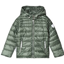 Ticket to heaven Jacket Lightweight Padding Chris with detachable hood duck green|green duck green|green