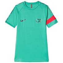 NIKE Green Nike Dry CR7 Academy Short-Sleeve Football Top 348