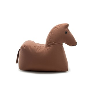 Image of Sitting Bull Happy Zoo Lotte Pouf Brown (3015954545)