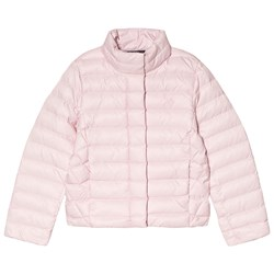 Ralph Lauren Pink Quilted Down Jacket