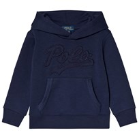 Ralph Lauren Navy Double-Knit Graphic Hoodie 002