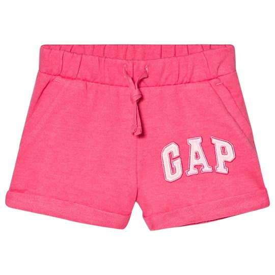 GAP Pull-On Logo Shorts Pink Nylon PINK JUBILEE NYLON ON