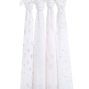 Image of Aden + Anais 4-Pack Lovely Reverie Classic Swaddles One Size (1105250)