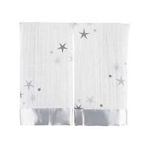 Image of Aden + Anais 2-Pack Twinkle Classic Issie Security Blankets One Size (1105276)