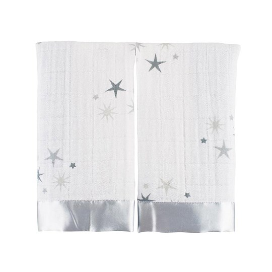 Aden + Anais 2-Pack Twinkle Classic Issie Security Blankets Twinkle