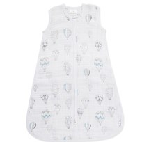 Aden + Anais White & Blue Night Sky Reverie Light Sleeping Bag (1.0 tog) night sky reverie