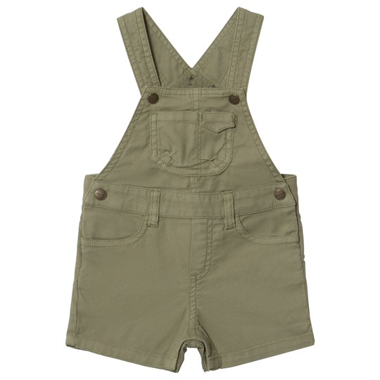 Mayoral Khaki Canvas Dungarees 62