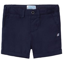 Mayoral Blue Smart Textured Shorts 74