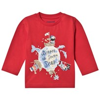 Mayoral Pirate Long Sleeve T-Shirt Red 42