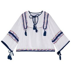 How To Kiss A Frog Claire Blouse White