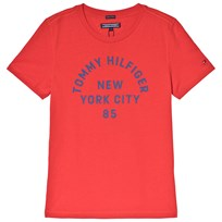 Tommy Hilfiger Red Branded Tee 610