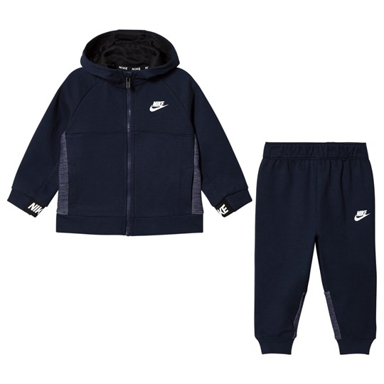 NIKE Navy Obisidian AV15 Hoodie and Sweatpants Set 695